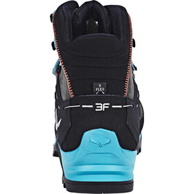 Salewa W's MTN Trainer Mid GTX Shoes Magnet/Viridian Green